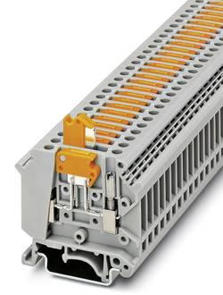 Bloc de jonction à couteau de sectionnement Conditionnement: 50 pc(s) Phoenix Contact UK 5-MTK-P/P RD 3048292