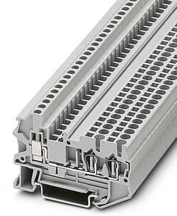 Bloc de jonction simple Conditionnement: 50 pc(s) Phoenix Contact STU 2,5-TWIN 3033016