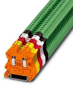 Bloc de jonction simple Conditionnement: 50 pc(s) Phoenix Contact UT 4 GN 3045156