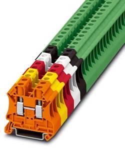 Bloc de jonction simple Conditionnement: 50 pc(s) Phoenix Contact UT 6 WH 3045198