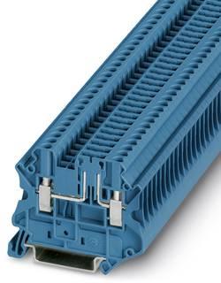 Bloc de jonction de sectionnement Conditionnement: 50 pc(s) Phoenix Contact UT 2,5-TG-P/P BU 3046582