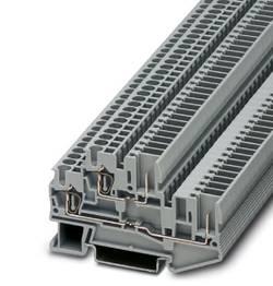 Bloc de jonction à 2 étages Conditionnement: 50 pc(s) Phoenix Contact STTB 2,5/2P-PV SO 3040928