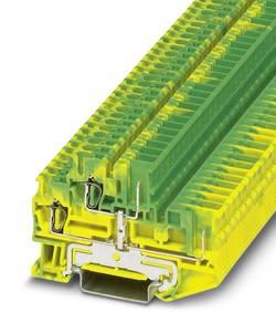 Bloc de jonction à 2 étages pour conducteur protection Conditionnement: 50 pc(s) Phoenix Contact STTB 2,5/2P-PE SO 30409