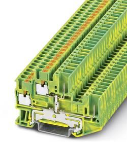 Bloc de jonction à 2 étages pour conducteur protection Conditionnement: 50 pc(s) Phoenix Contact PTTB 2,5/2P-PE 3210897