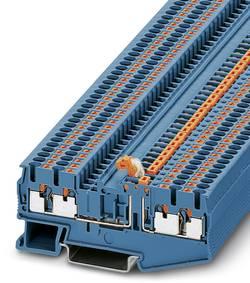 Bloc de jonction à couteau de sectionnement Conditionnement: 50 pc(s) Phoenix Contact PT 2,5-QUATTRO-MT BU 3211676