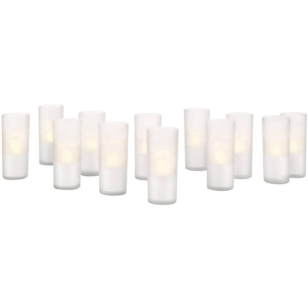 Mes Ampoules Led Scintillent lampe led décorative philips candle lights 12er set