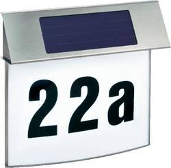 Lampe solaire pour numéro de maison Esotec Vision 102200 blanc neutre acier inoxydable