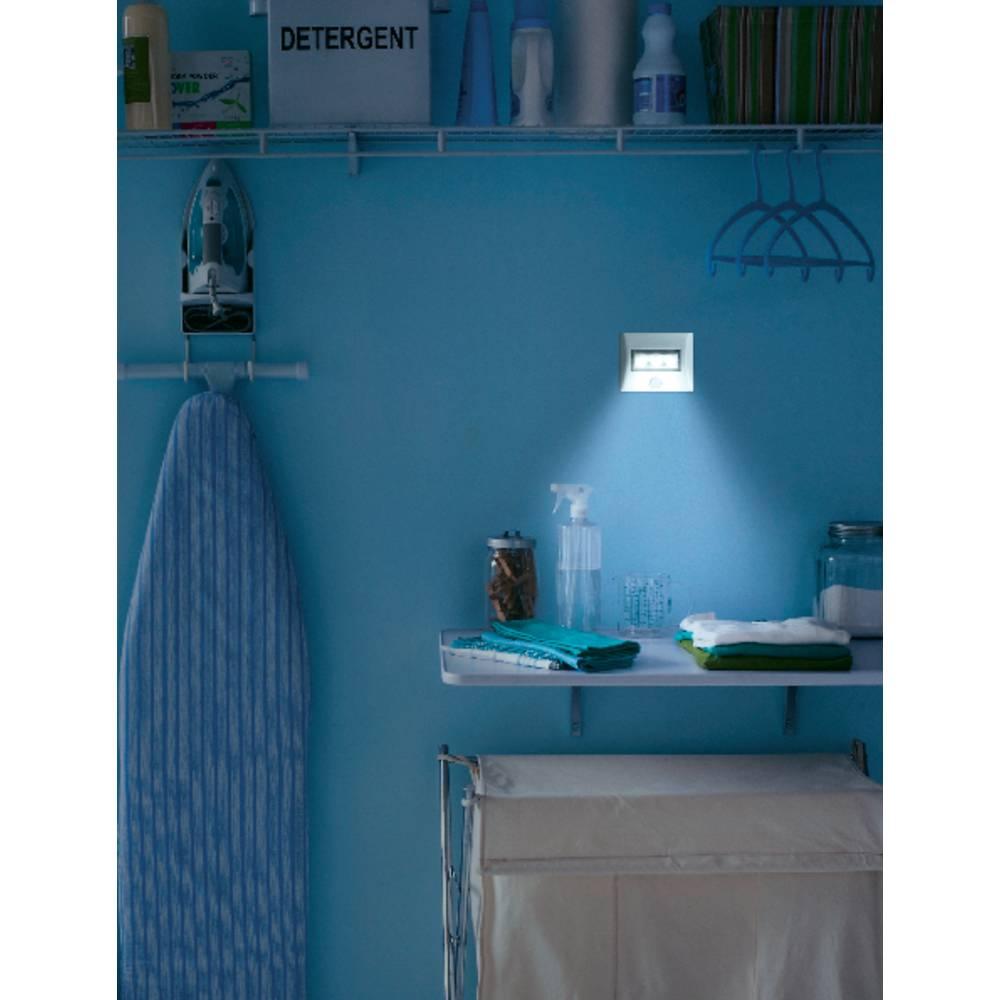 veilleuse avec d tecteur de mouvements osram rectangulaire. Black Bedroom Furniture Sets. Home Design Ideas