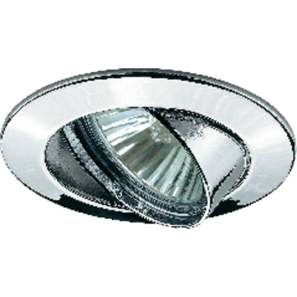 collerette ampoule halog ne gu10 paulmann 98943 50 w chrome sur le site internet conrad 575733. Black Bedroom Furniture Sets. Home Design Ideas
