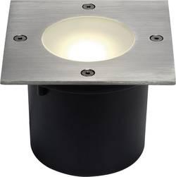 Spot LED extérieur encastrable LED intégrée SLV 230174 blanc chaud 7.7 W acier inoxydable