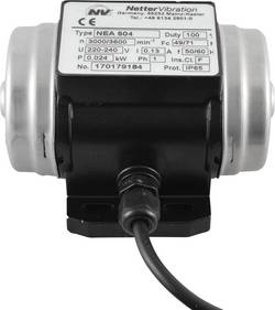 Vibrateur électrique Netter Vibration NEG 5020 400 V 3000 tr/min 192 N 0,035 kW 0,15 A 1 pc(s)
