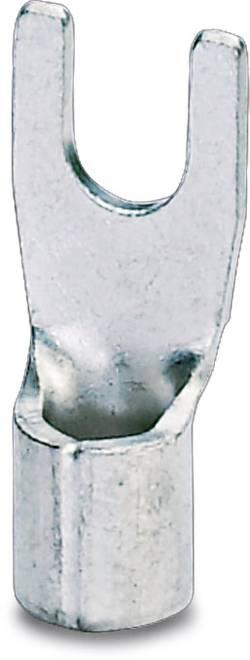 Cosse à fourche Phoenix Contact 3240145 Ø du trou: 5.3 mm 1.10 mm² 2.50 mm² M5 non isolé métal 100 pc(s)