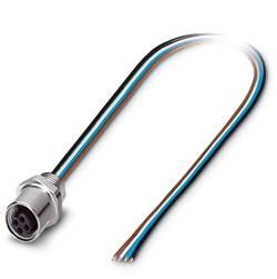 Connecteur femelle encastrable pour capteurs/actionneurs Conditionnement: 1 pc(s) Phoenix Contact SACC-E-M5FS-4CON-M5/0,