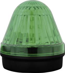 Témoin lumineux LED ComPro CO/BL/50/G/024/15F 24 V DC/AC lumière permanente, flash, gyrophare vert IP65 1 pc(s)