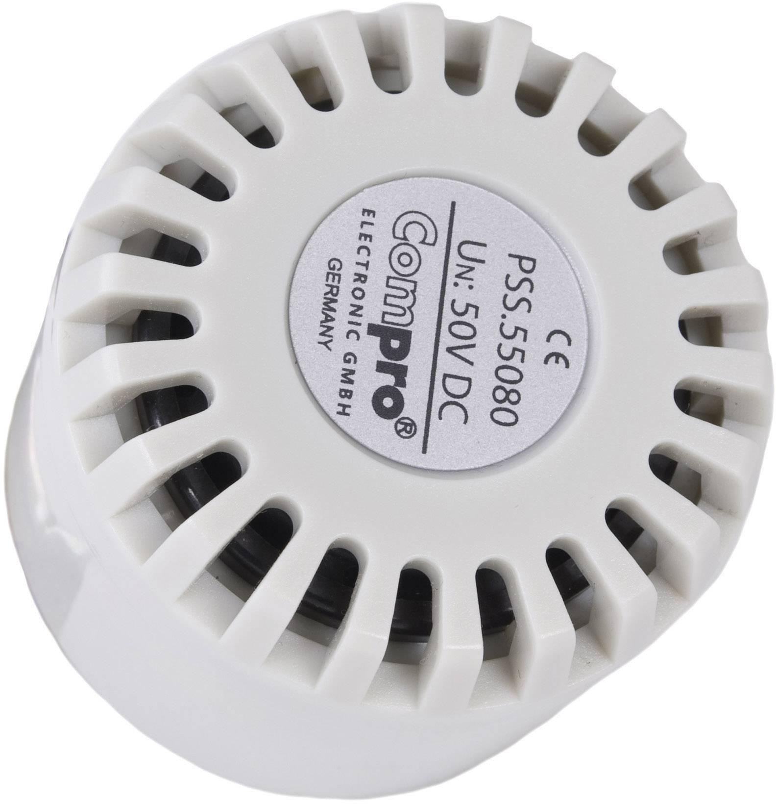 3d62405159e37 Sirène tonalité simple ComPro PSS.55.030.W 12 V/DC 110 dB 1 pc(s)