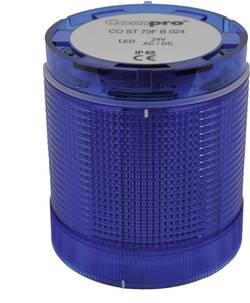 Elément de colonne de signalisation ComPro CO ST 70 BL 024 24 V AC/DC lumière permanente, feu clignotant IP65 1 pc(s)