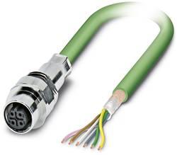 Connecteur femelle encastrable pour système de bus Conditionnement: 1 pc(s) Phoenix Contact SACCEC-M12FSB-5CON-M16/1,0-9