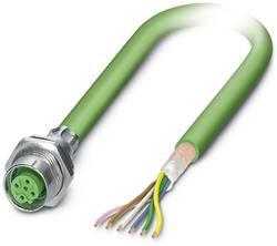 Connecteur femelle encastrable pour système de bus Conditionnement: 1 pc(s) Phoenix Contact SACCBP-M12FSB-5CON-M16/1,0-9