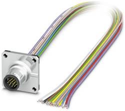 Connecteur mâle encastrable pour capteurs/actionneurs Phoenix Contact SACC-SQ-M12MS-17CON-20/0,5 1441723 1 pc(s)