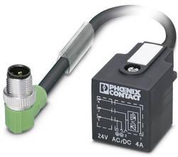 Connecteur confectionné 1.50 m Phoenix Contact SAC-3P-MR/ 1,5-PUR/A-1L-Z SCO 1434950 M12 mâle coudé - Connecteur d'élect