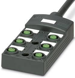 Répartiteur passif M12 filetage en plastique Phoenix Contact SACB-6/12- 5,0PUR SCO P 1452482 1 pc(s)
