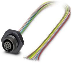 Connecteur encastrable pour capteurs/actionneurs Conditionnement: 1 pc(s) Phoenix Contact SACC-DSI-M12FS-8CON-PG9/0,5 P