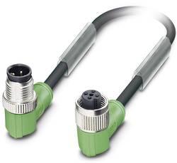 Câble pour capteurs/actionneurs Phoenix Contact SAC-3P-M12MR/0,6-PUR/M12FR B 1668645 Conditionnement: 1 pc(s)