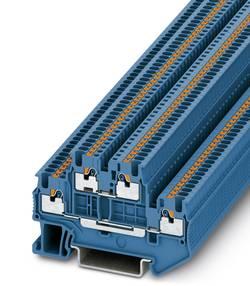 Bloc de jonction à 2 étages Phoenix Contact PTTB 1,5/S BU 3208524 bleu 50 pc(s)