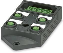 Répartiteur passif M12 filetage en plastique Phoenix Contact SACB-4/ 8-L-C GG SCO P 1452877 1 pc(s)