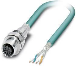 Connecteur femelle encastrable pour système de bus Conditionnement: 1 pc(s) Phoenix Contact SACCEC-M12FSD-4CON-M16/0,5-9