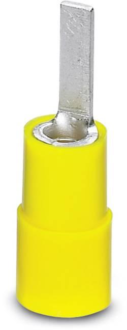 Cosse à embout Phoenix Contact 3240546 modèle plat 6 mm² partiellement isolé jaune 100 pc(s)