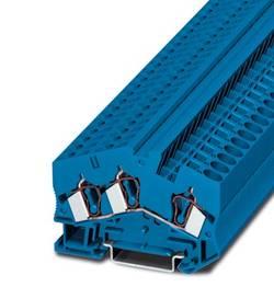 Bloc de jonction simple Phoenix Contact STS 6-TWIN BU 3038163 bleu 50 pc(s)
