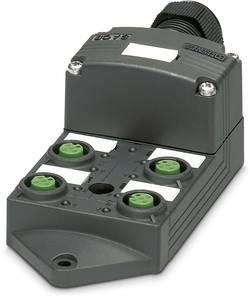 Répartiteur passif M12 filetage en plastique Phoenix Contact SACB-4/ 4-L-SC SCO P 1452987 1 pc(s)
