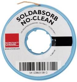 Fil à déssouder SOLDABSORB NO-CLEAN , longueur : 1,5m, largeur : 0,8mm, Kontakt Chemie CRC