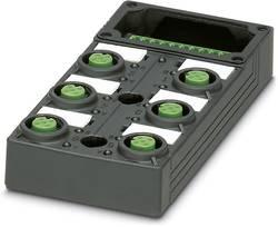 Répartiteur passif M12 filetage en plastique Phoenix Contact SACB-6/ 6-L-C GG SCO P 1452880 1 pc(s)