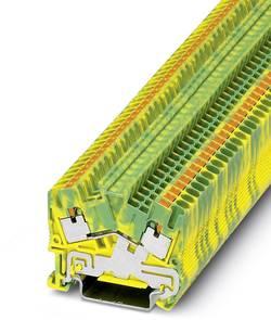 Bloc de jonction pour conducteur de protection Phoenix Contact PTS 2,5-PE 3211867 vert-jaune 50 pc(s)