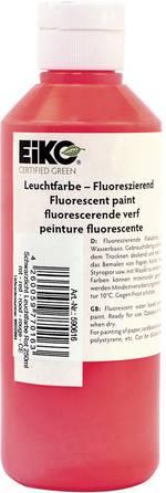 Peinture fluorescente pour lumière noire Eiko rouge 250 ml