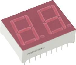 Afficheur 7 segments Everlight Opto MAN6940 Nombre de chiffres: 2 rouge 14.22 mm 2.5 V 1 pc(s)