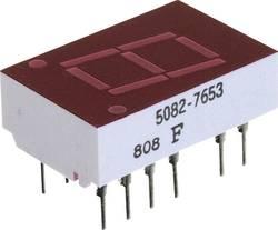 Afficheur 7 segments Broadcom 5082-7653 Nombre de chiffres: 1 rouge 11 mm 2.1 V 1 pc(s)