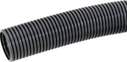Gaine annelée Ø intérieur: 29 mm LappKabel SILVYN® RILL PA6 LL 29/16,5x21,2 GY 61747170 gris au mètre