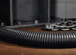 Gaine de protection acier Ø intérieur: 21.10 mm HellermannTyton PCS25 166-30704 noir au mètre