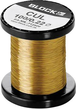 Fil de cuivre émaillé Ø ext. avec isolant=1.32 mm 1 l'ens.