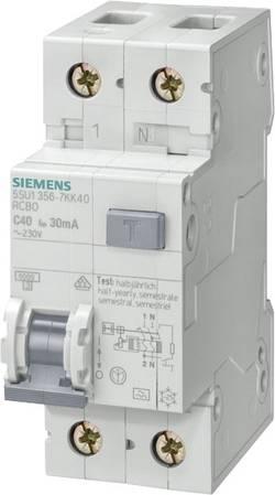 Interrupteur différentiel Siemens FI-/Leitungsschutzeinr. Typ A 5SU1356-6KK20 1 pôle 20 A 230 V
