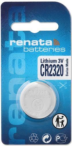 Pile bouton CR 2320 lithium Renata 150 mAh 3 V 1 pc(s)