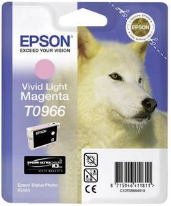 Cartouche d'encre Epson T0966 magenta clair C13T09664010