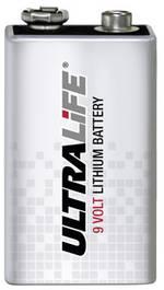 Pile bloc 9 V lithium Ultralife 9VLJP 1200 mAh 9 V 1 pc(s)