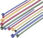 Lot de colliers serre-câbles coloré