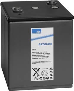 Batterie au plomb 6 V 63 Ah GNB Sonnenschein 6V 3 OGiV 54 plomb-gel (l x h x p) 198 x 272 x 241 mm raccord à vis M6 sans