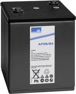 Batterie au plomb 6 V 84 Ah GNB Sonnenschein 6V 4 OGiV 72 plomb-gel (l x h x p) 198 x 272 x 241 mm raccord à vis M6 sans