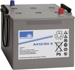 Batterie au plomb 12 V 90 Ah GNB Sonnenschein A412/90 A plomb-gel (l x h x p) 284 x 230 x 267 mm pôle conique sans entre